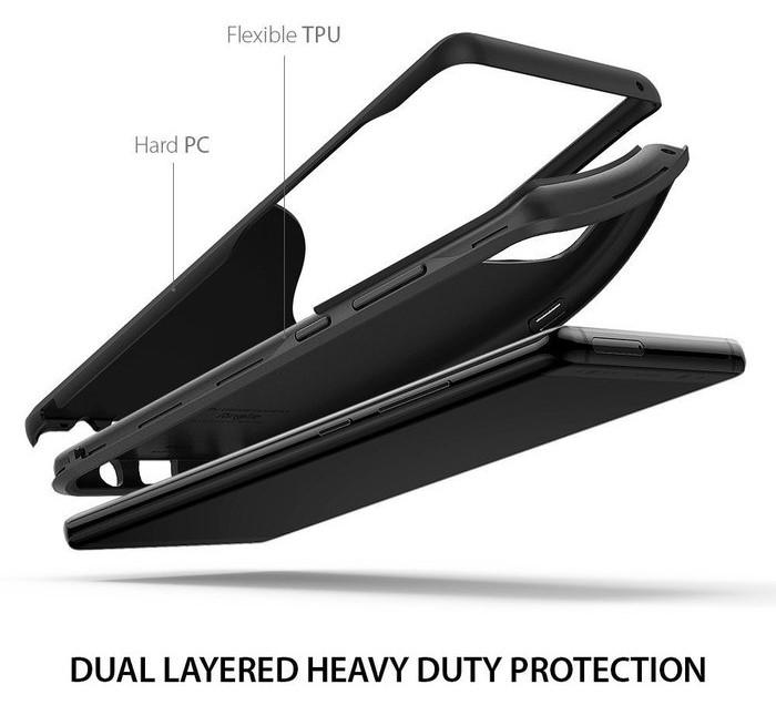 Husa Ringke Wave Charcoal Black pentru Samsung Galaxy Note 8 4