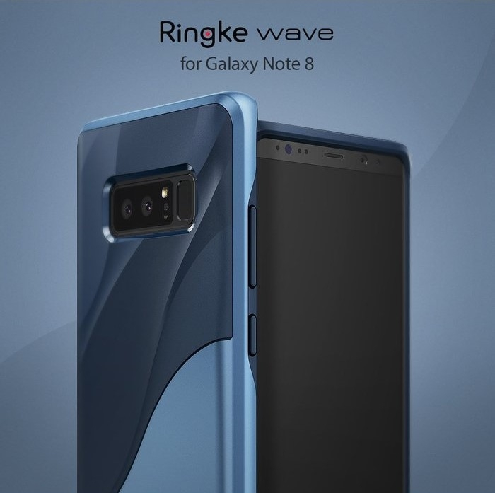 Husa Ringke Wave Coastal Blue pentru Samsung Galaxy Note 8 0