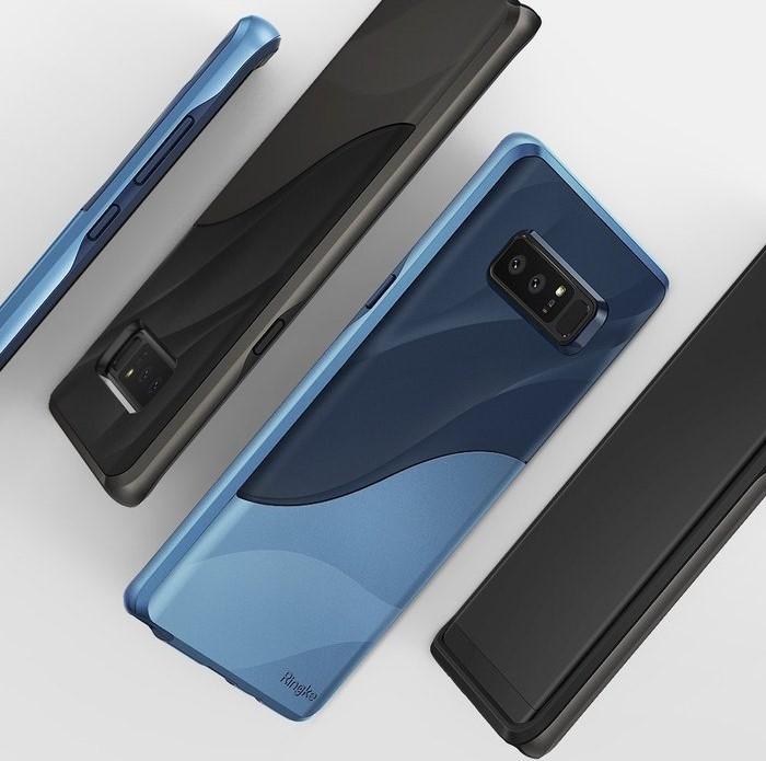 Husa Ringke Wave Coastal Blue pentru Samsung Galaxy Note 8 3