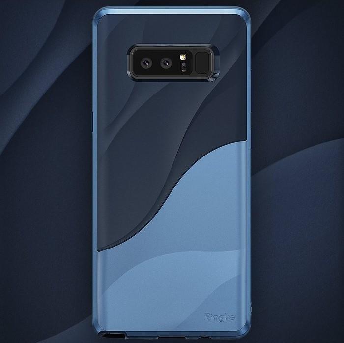 Husa Ringke Wave Coastal Blue pentru Samsung Galaxy Note 8 4