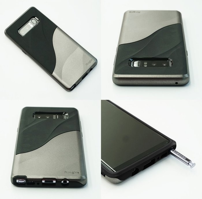 Husa Ringke Wave Metallic Chrome pentru Samsung Galaxy Note 8 0
