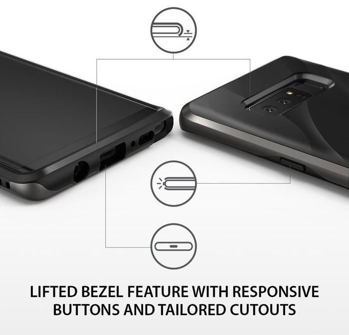 Husa Ringke Wave Metallic Chrome pentru Samsung Galaxy Note 8 1