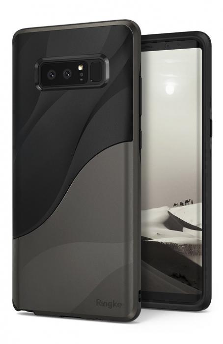 Husa Ringke Wave Metallic Chrome pentru Samsung Galaxy Note 8 5