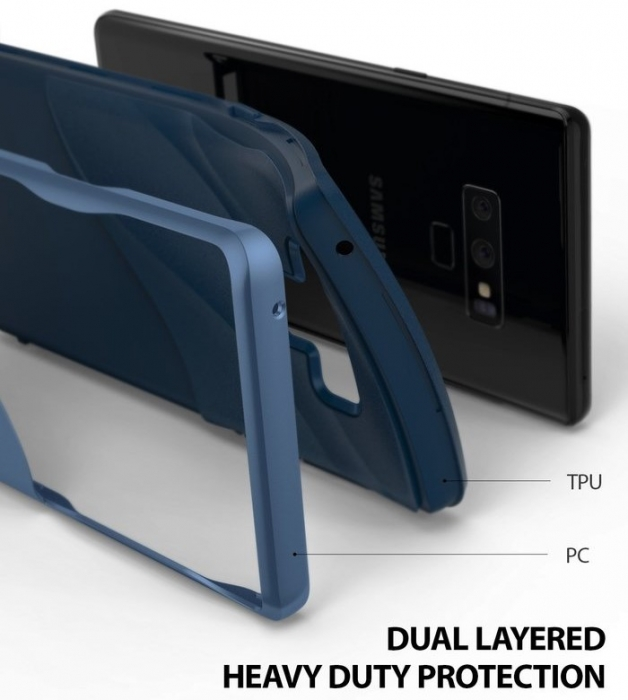 Husa Ringke Wave Blue pentru Samsung Galaxy Note 9 3