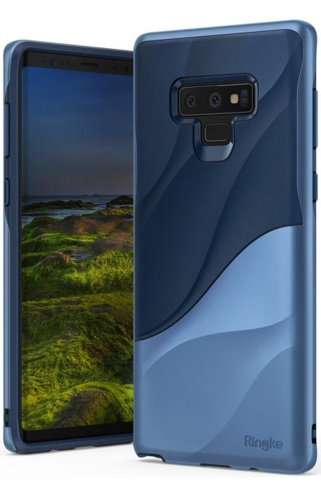 Husa Ringke Wave Blue pentru Samsung Galaxy Note 9 4