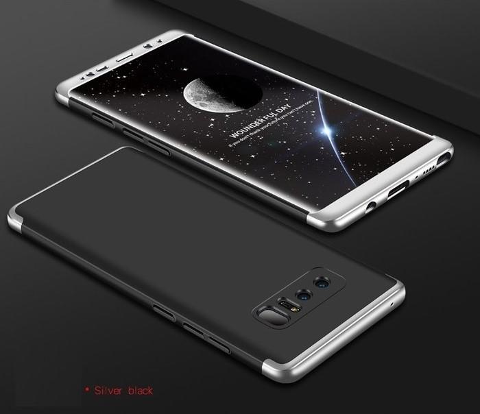 Husa GKK 360 Silver pentru Samsung Galaxy Note 8 2