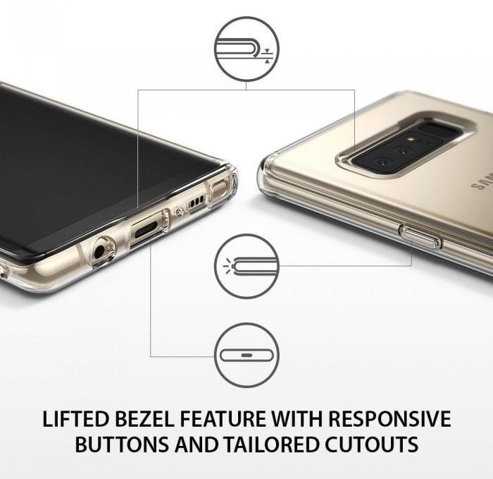 Husa Ringke Air Clear pentru Samsung Galaxy Note 8 6