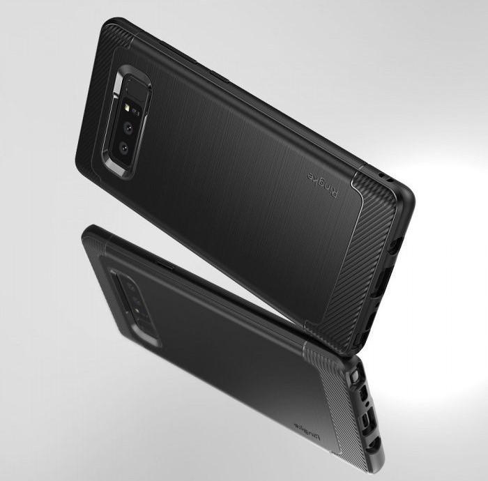 Husa Ringke ONYX BLACK pentru Samsung Galaxy Note 8 2