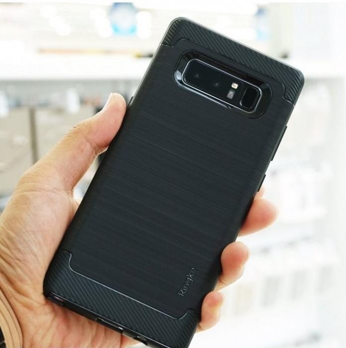 Husa Ringke ONYX BLACK pentru Samsung Galaxy Note 8 3