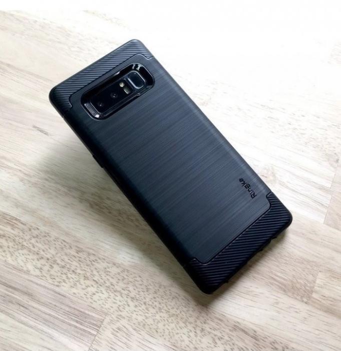Husa Ringke ONYX BLACK pentru Samsung Galaxy Note 8 4