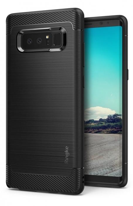 Husa Ringke ONYX BLACK pentru Samsung Galaxy Note 8 5