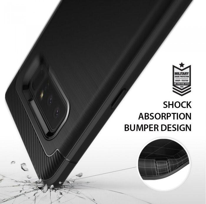 Husa Ringke ONYX BLACK pentru Samsung Galaxy Note 8 7