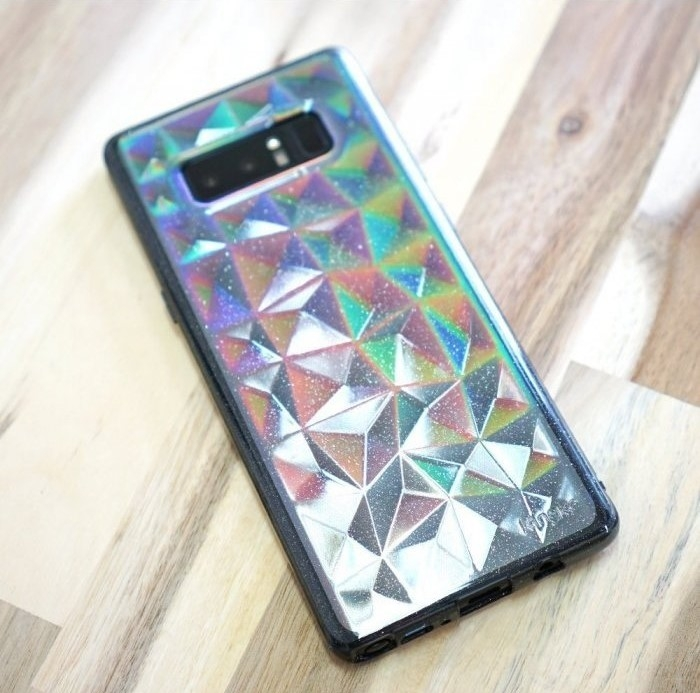 Husa Ringke Prism Glitter Gray pentru Samsung Galaxy Note 8 7