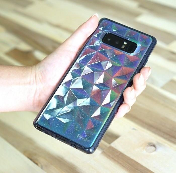 Husa Ringke Prism Glitter Gray pentru Samsung Galaxy Note 8 5