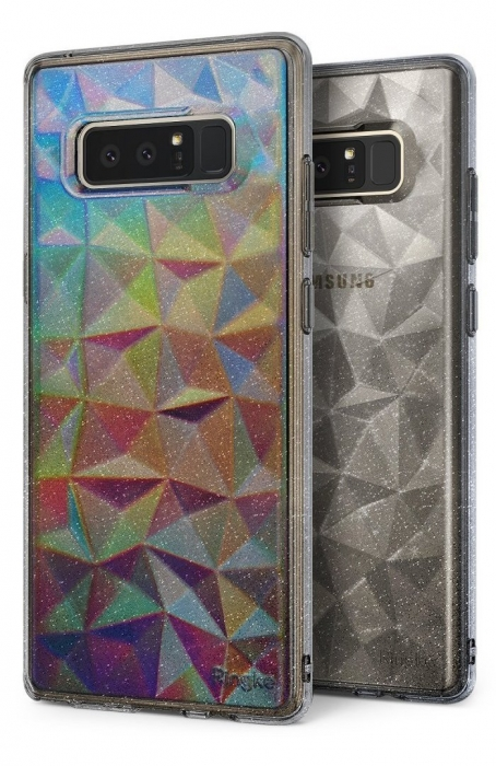 Husa Ringke Prism Glitter Gray pentru Samsung Galaxy Note 8 3