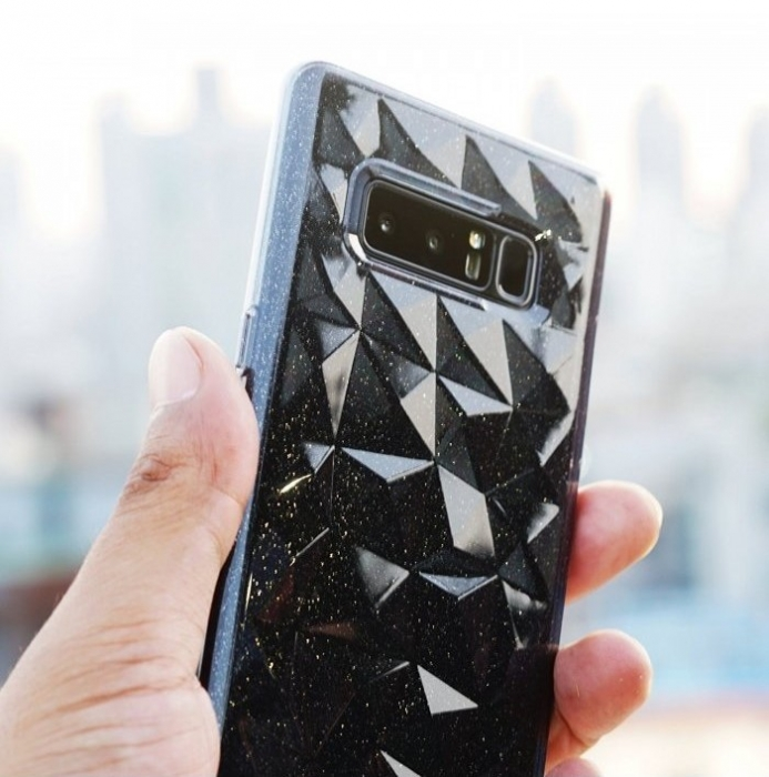 Husa Ringke Prism Glitter Gray pentru Samsung Galaxy Note 8 2