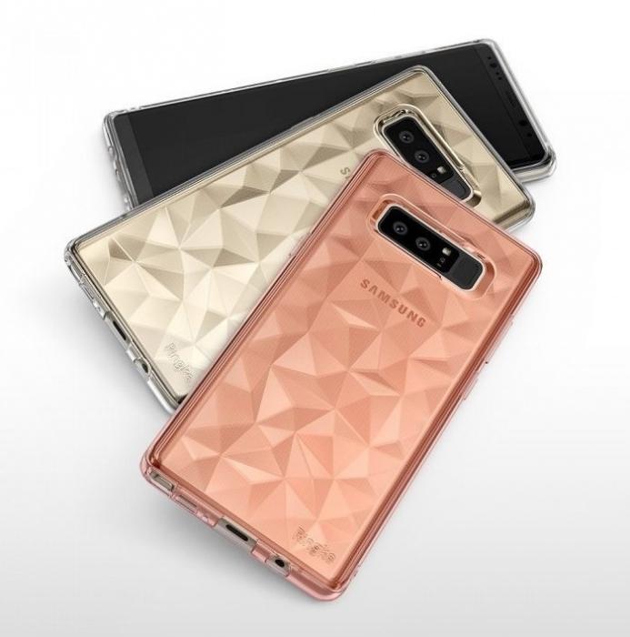 Husa Ringke Prism Rose Gold pentru Samsung Galaxy Note 8 1