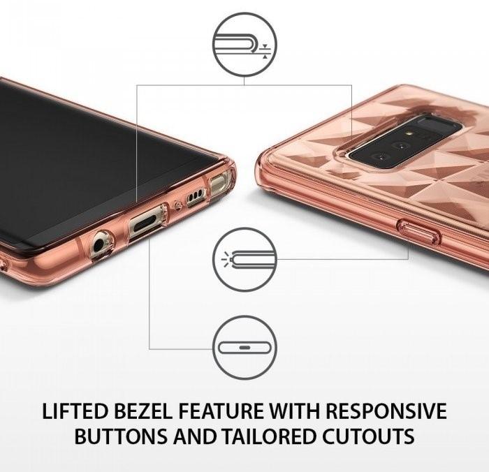 Husa Ringke Prism Rose Gold pentru Samsung Galaxy Note 8 3
