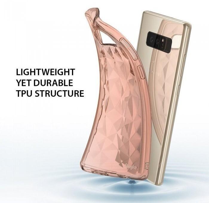 Husa Ringke Prism Rose Gold pentru Samsung Galaxy Note 8 4