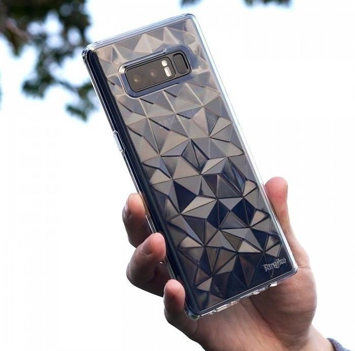 Husa Ringke Prism Rose Gold pentru Samsung Galaxy Note 8 7