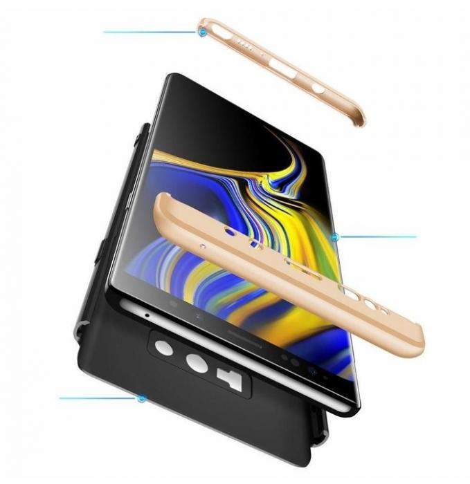 Husa GKK 360 Gold pentru Samsung Galaxy Note 9 0
