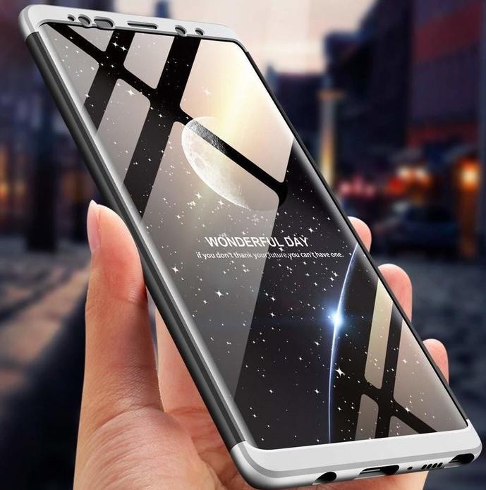 Husa GKK 360 Silver pentru Samsung Galaxy Note 9 1