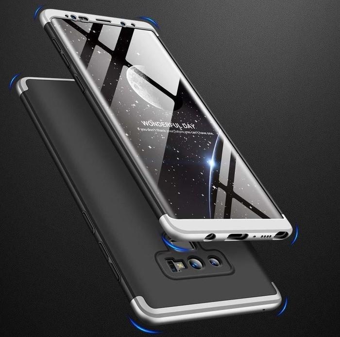Husa GKK 360 Silver pentru Samsung Galaxy Note 9 2