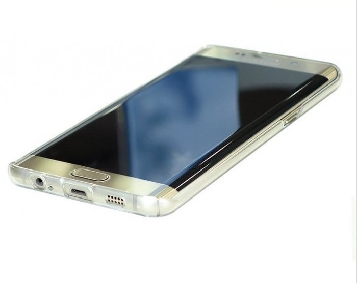 Husa Ringke SLIM CRYSTAL TRANSPARENT+BONUS folie protectie display Ringke pentru Samsung Galaxy S6 Edge Plus 1