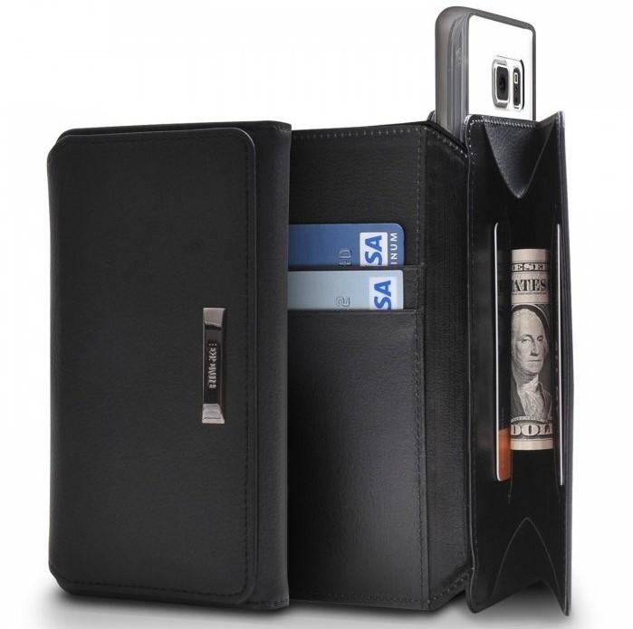 Husa Ringke WALLET ALB ALBASTRU pentru Samsung Galaxy S6 2