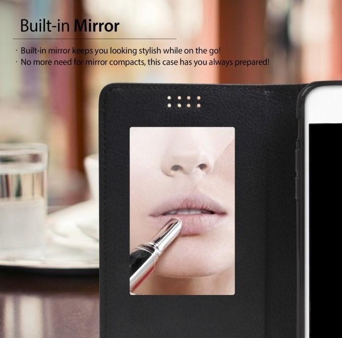 Husa Ringke WALLET ALB ALBASTRU pentru Samsung Galaxy S6 5