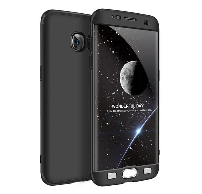 Husa GKK 360 Negru pentru Samsung Galaxy S7 Edge 0
