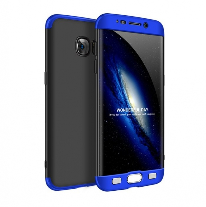 Husa GKK 360 Albastru pentru Samsung Galaxy S7 Edge 0