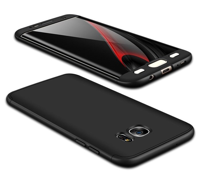 Husa GKK 360 Argintiu pentru Samsung Galaxy S7 Edge 6