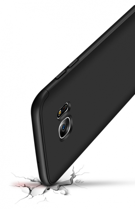 Husa GKK 360 Negru pentru Samsung Galaxy S7 Edge 5