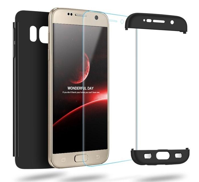 Husa GKK 360 Albastru pentru Samsung Galaxy S7 Edge 4
