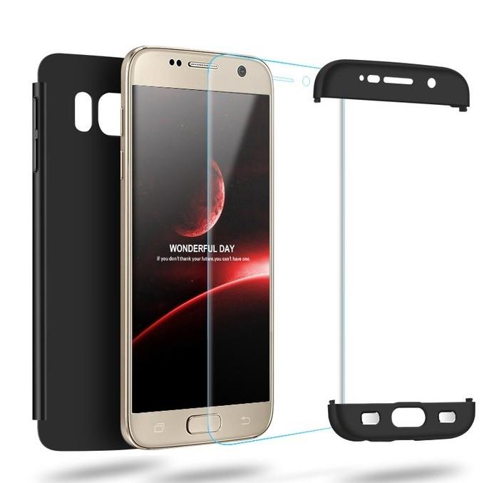 Husa GKK 360 Rosu pentru Samsung Galaxy S7 Edge 4
