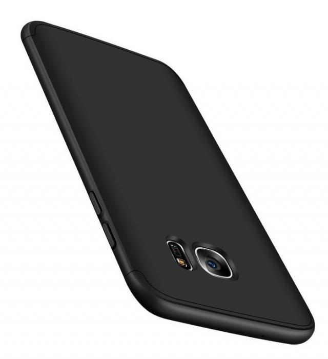 Husa GKK 360 Negru pentru Samsung Galaxy S7 Edge 3