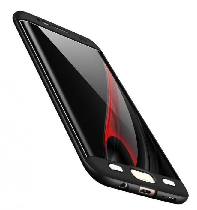 Husa GKK 360 Albastru pentru Samsung Galaxy S7 Edge 2