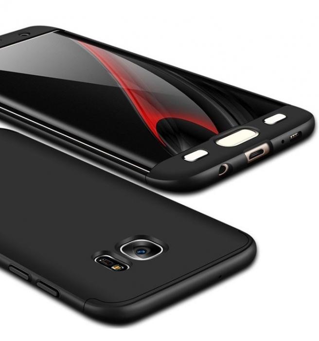 Husa GKK 360 Negru pentru Samsung Galaxy S7 Edge 1