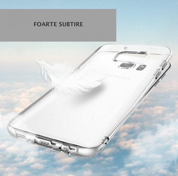 Husa Ringke AIR SMOKE BLACK pentru Samsung Galaxy S7 EDGE 4