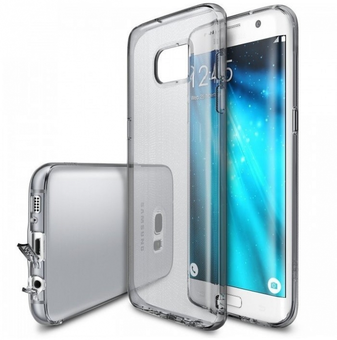 Husa Ringke AIR SMOKE BLACK pentru Samsung Galaxy S7 EDGE 1