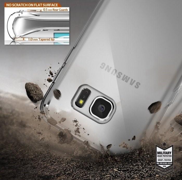 Husa Ringke FUSION CRYSTAL VIEW pentru Samsung Galaxy S7 Edge 5