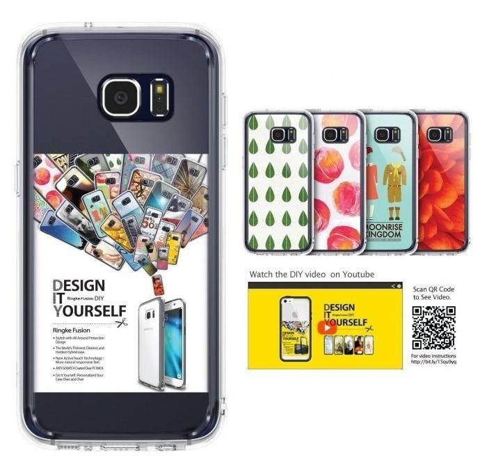 Husa Ringke FUSION CRYSTAL VIEW pentru Samsung Galaxy S7 Edge 6
