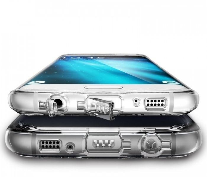 Husa Ringke FUSION ROSE GOLD pentru Samsung Galaxy S7 Edge 3