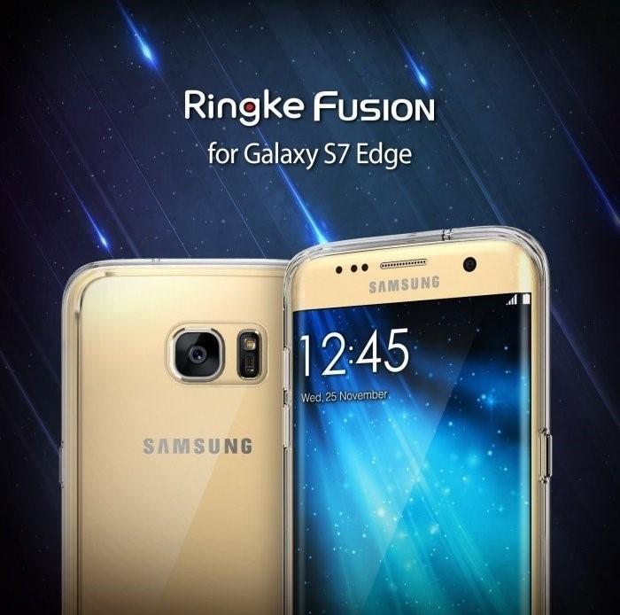 Husa Ringke FUSION SMOKE BLACK pentru Samsung Galaxy S7 1