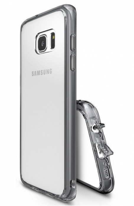 Husa Ringke FUSION SMOKE BLACK pentru Samsung Galaxy S7 2