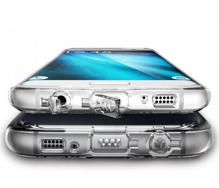 Husa Ringke FUSION SMOKE BLACK pentru Samsung Galaxy S7 3
