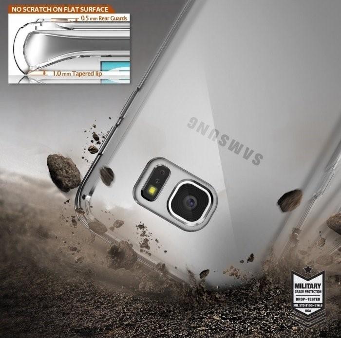Husa Ringke FUSION SMOKE BLACK pentru Samsung Galaxy S7 6