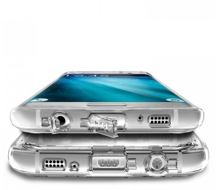 Husa Edge Ringke MIRROR ROSE GOLD pentru Samsung Galaxy S7 5