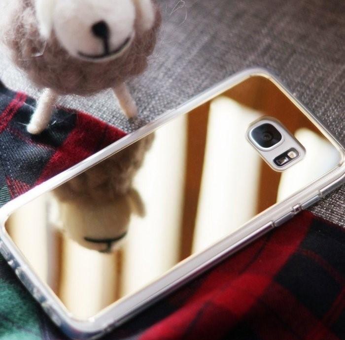 Husa Edge Ringke MIRROR ROSE GOLD pentru Samsung Galaxy S7 1